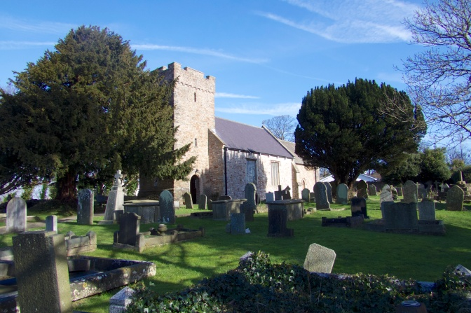 Sully Church - Dedicated to St John the Baptist
