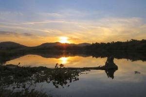 Sunset at Heritage Lake