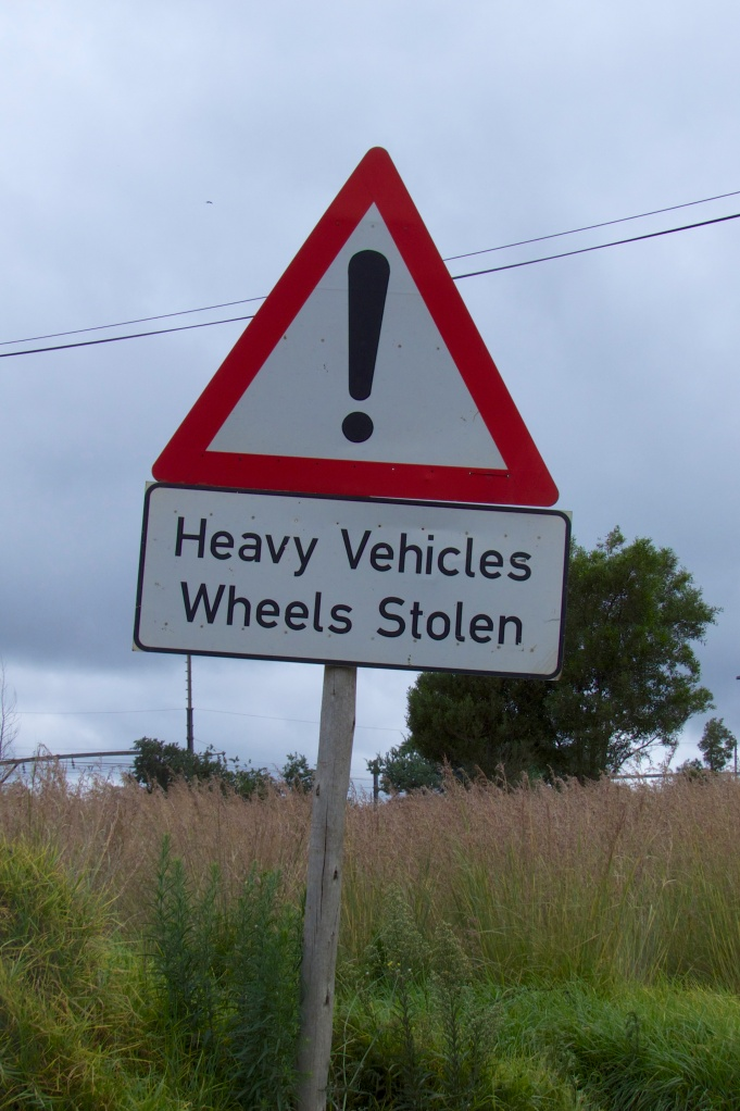 Watch your wheels - they may not be there when you wake up!