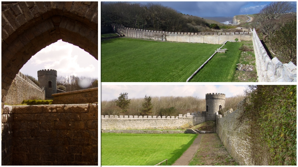 Walled gardens - the only real evidence there was once a grand house here.