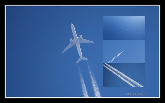 Plane Trails