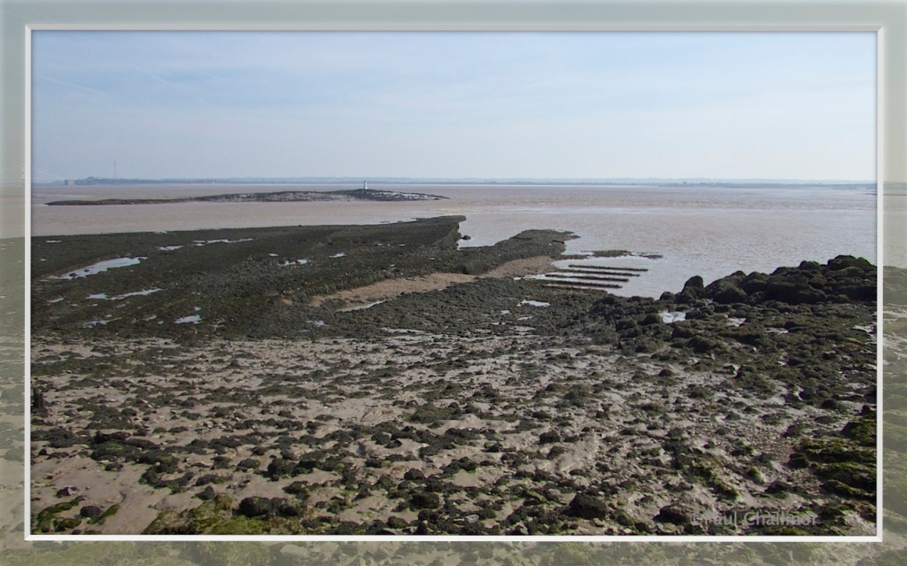 Black Rock, and in the foreground the remains of the ferry ramp.