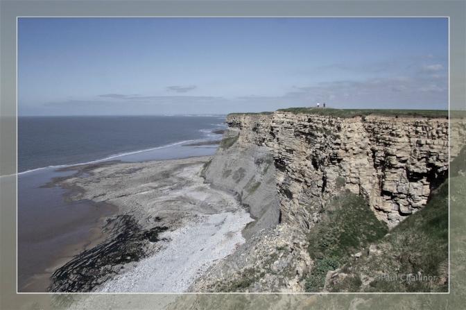 Limestone cliffs and limestone pavements