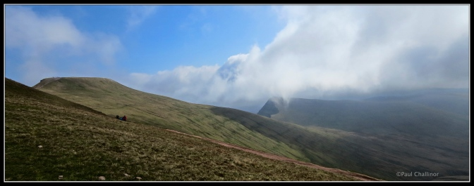 Looking towards Pen Y fan.