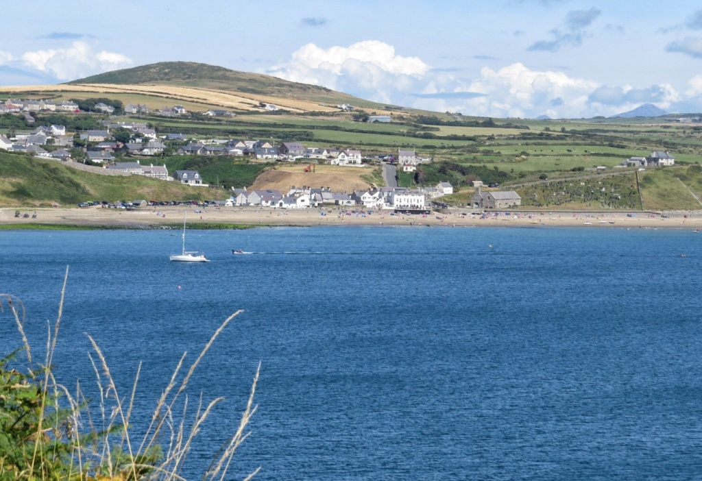 Aberdaron from the path