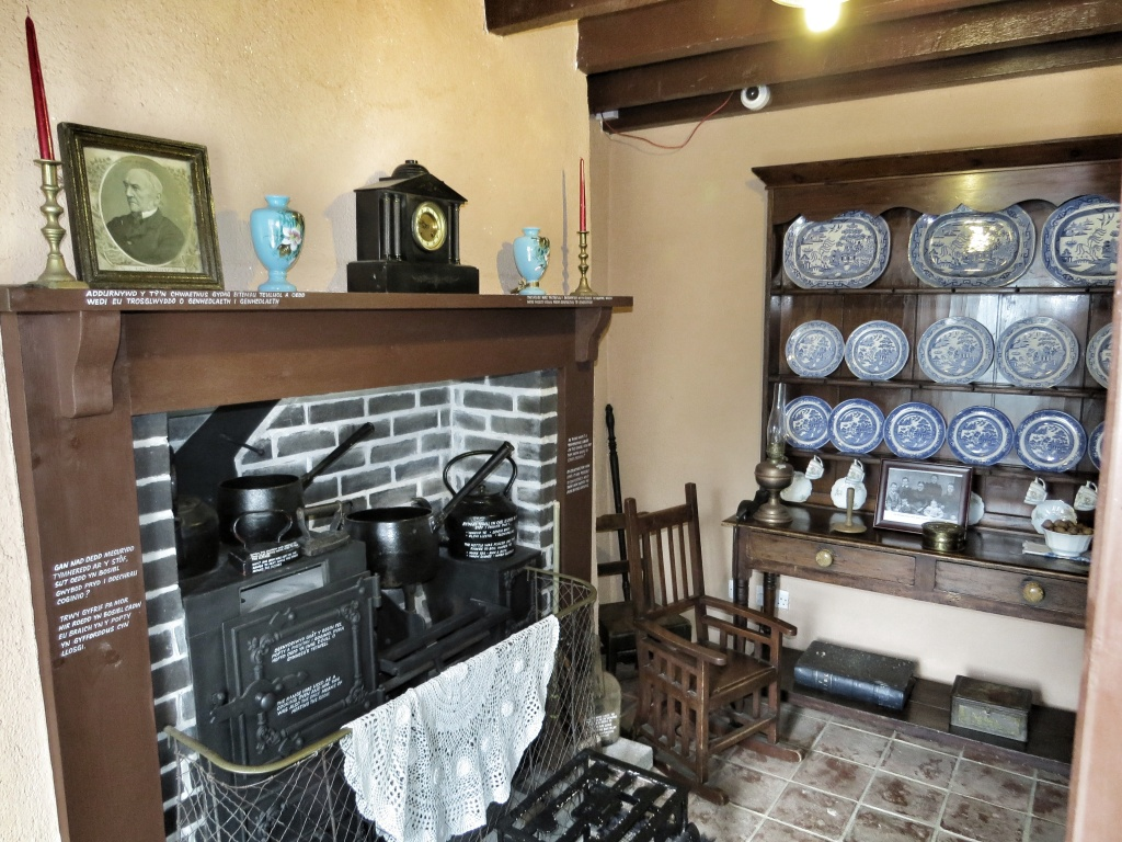 The main room in the tiny 2 up 2 down terraced houses.