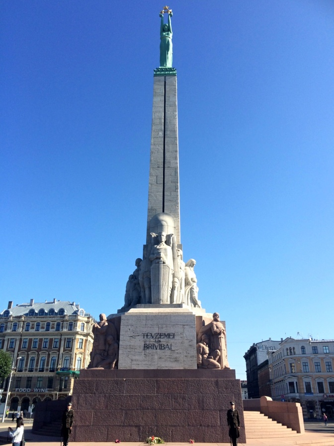The idea of building a memorial to honor soldiers killed in action during the Latvian War of Independence first emerged in the early 1920s. On July 27, 1922, the Prime Minister of Latvia, Zigfrīds Anna Meierovics, ordered rules to be drawn up for a contest for designs of a