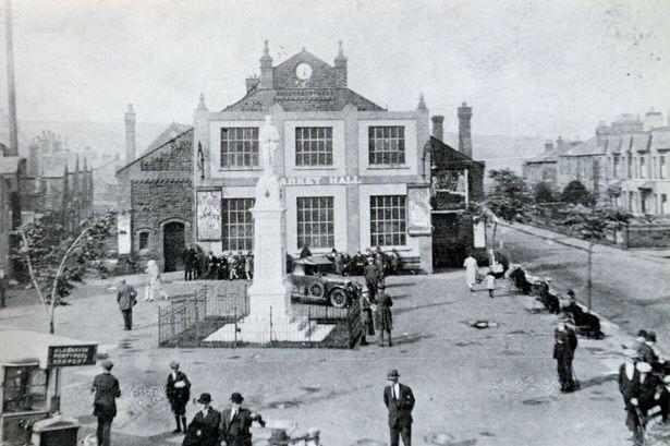 The original Market Hall
