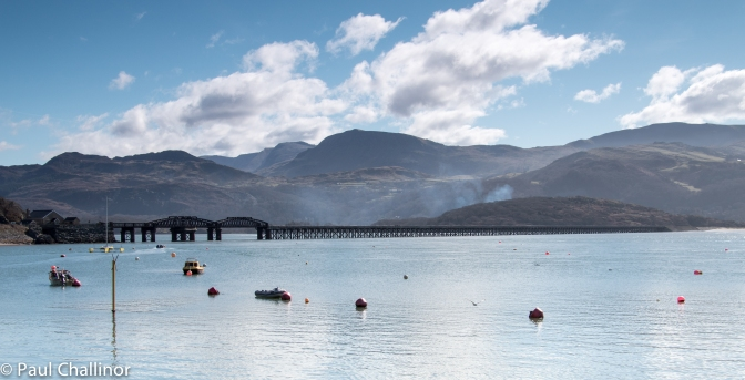 The bridge seen from Barmouth