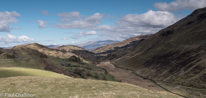 Looking down the valley towards Dolgellau