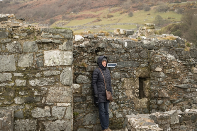The view form the top of the walls - it wasn't really that cold!