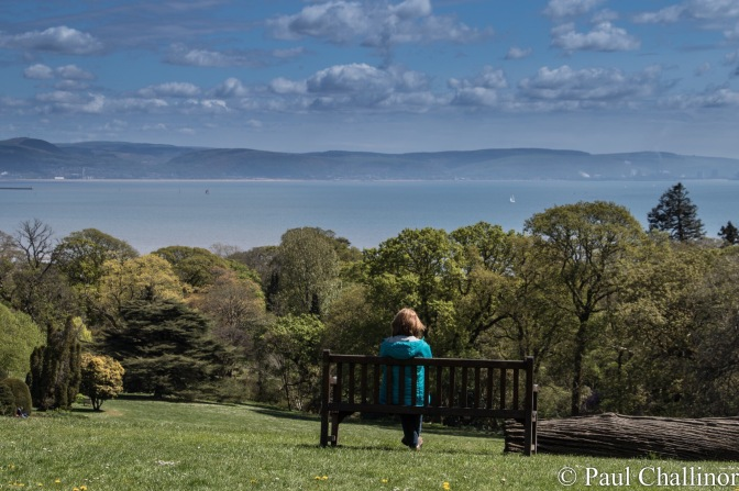 And then it was time for lunch over looking Swansea Bay. Good jib we had packed our own, as the servants failed to make an appearance. Then because I had been a good boy and not chased too many butterflies I was promised an Ice Cream afterwards.