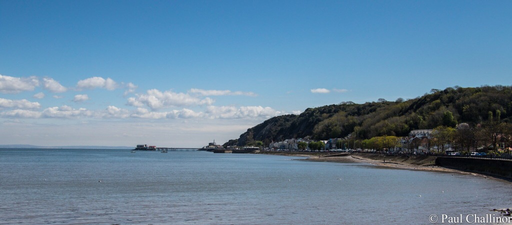 Our view as we ate the North Poles, looking towards Mumbles Lighthouse and Life Boat Stations.