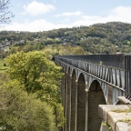 Water in the sky – Pontcysyllte Aqeduct. Welsh 100 – No 28