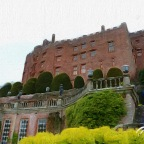 A Red Castle? Powys Castle of course! Welsh 100 – No 27