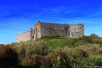 Manorbier Castle – a castle in the sand