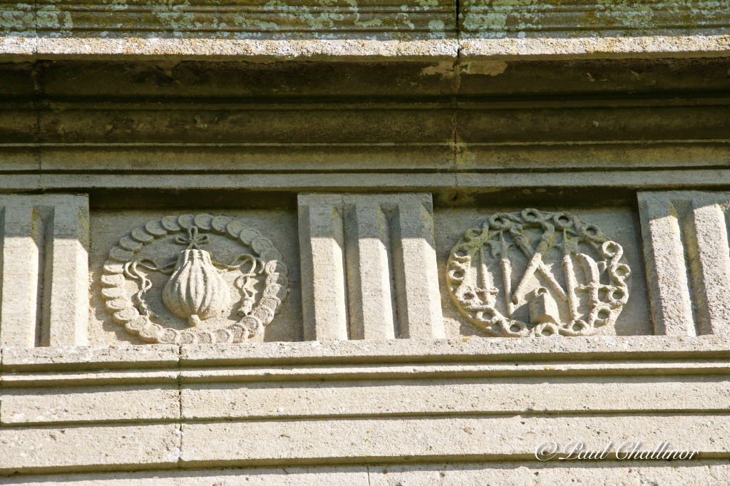 Detail of some of the carving that surrounds the whole building. These remain in excellent condition, despite being over 400 years old.