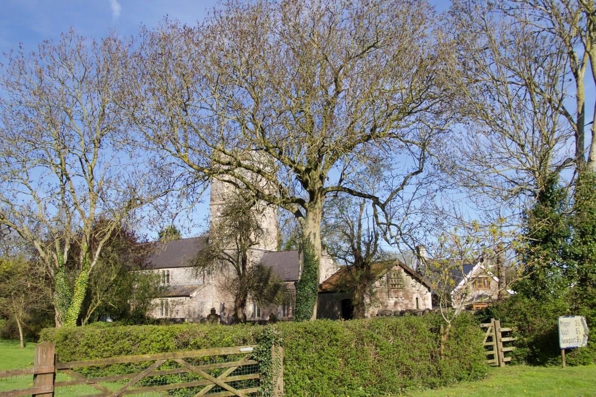 Redwick Church 170402